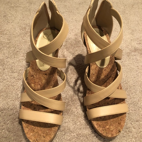 Jessica Simpson Shoes Bassena Wedge Sandal Poshmark